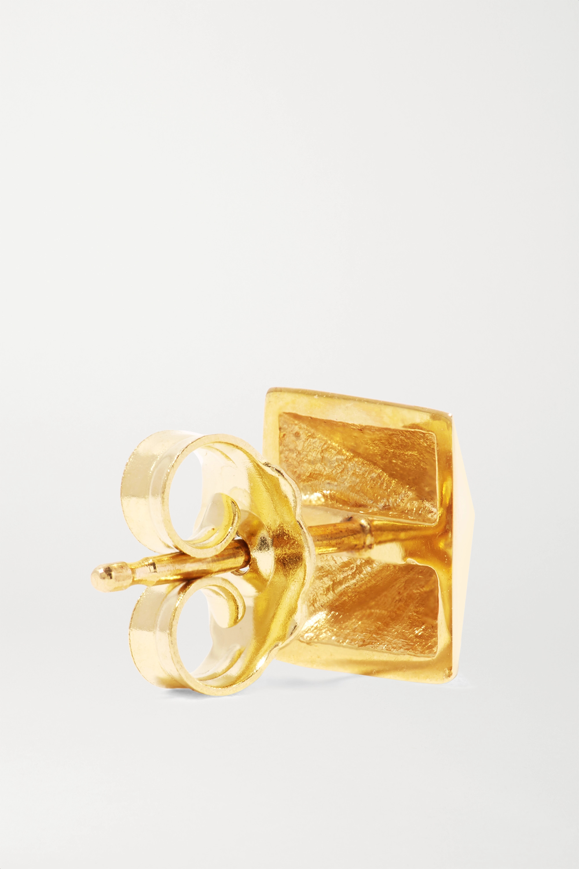 Anita Ko Spike 14-karat gold earrings