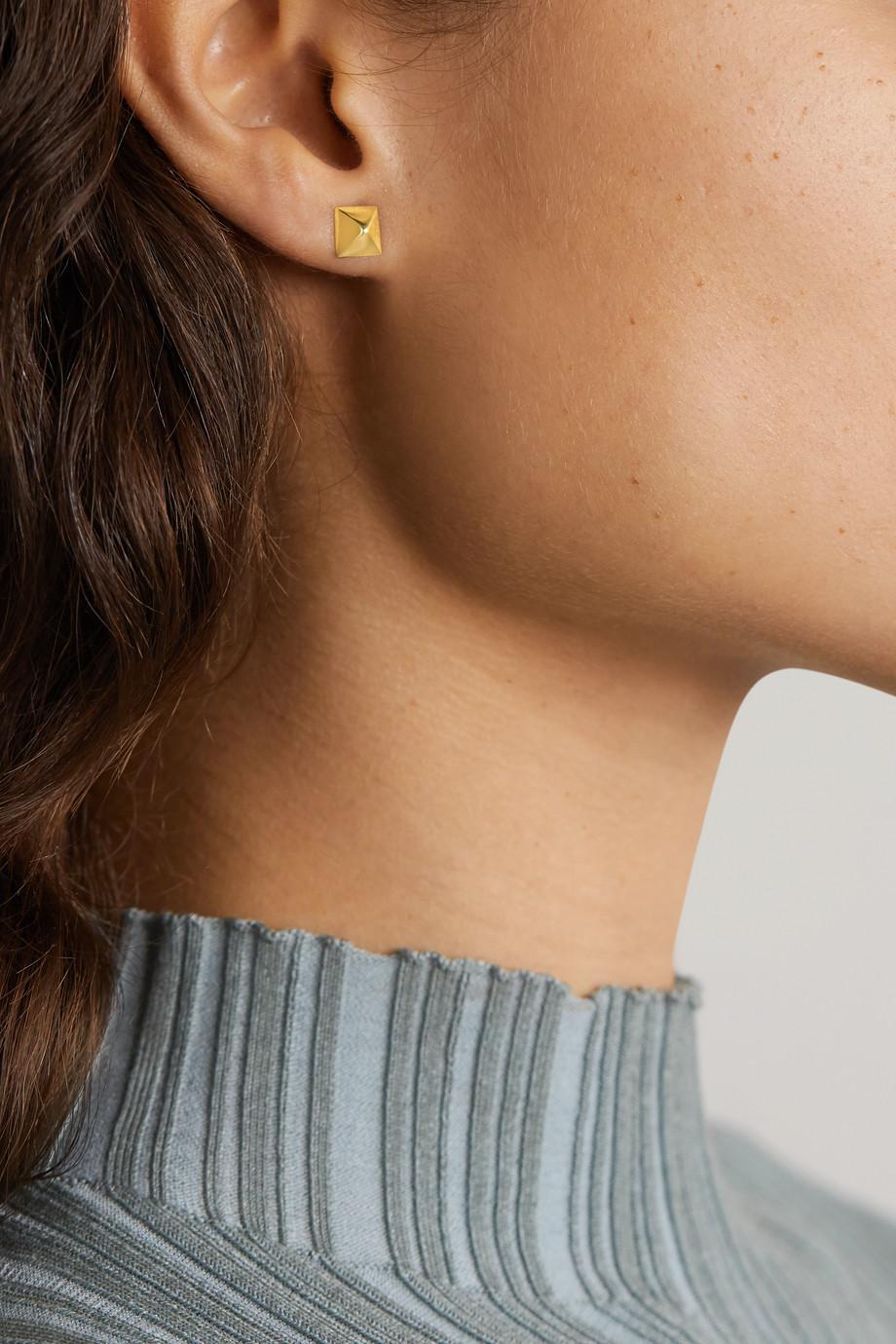 Anita Ko Boucles d'oreilles en or 14 carats (585/1000) Spike