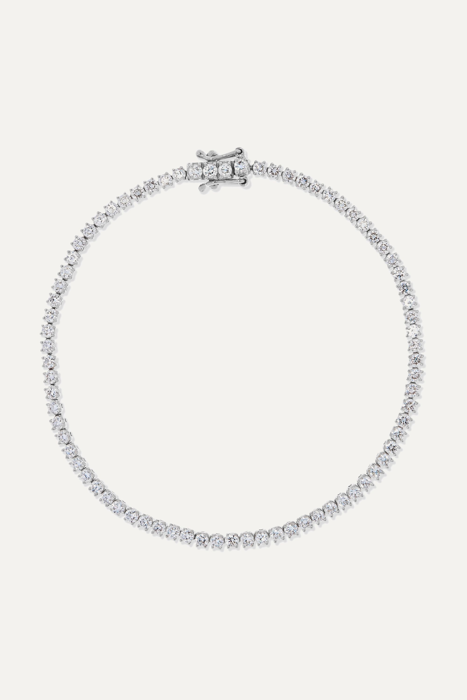 Anita Ko Hepburn Armband aus 18 Karat Weißgold mit Diamanten