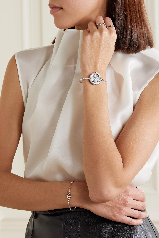 Gucci Gucci Play 26mm 18-karat white gold and diamond watch