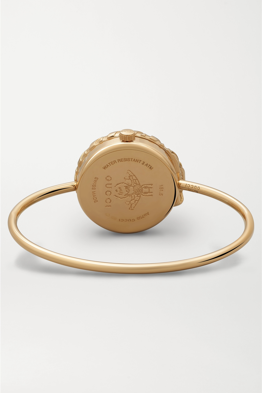 Gucci Dionysus 29mm 18-karat gold and diamond watch