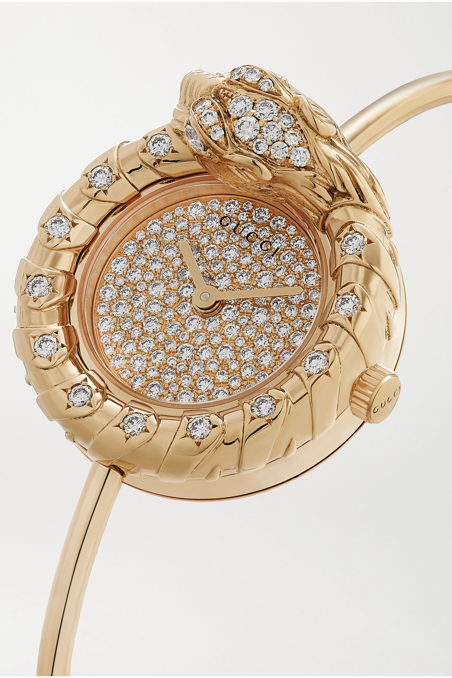 Gucci Montre en or 18 carats et diamants Dionysus 29 mm