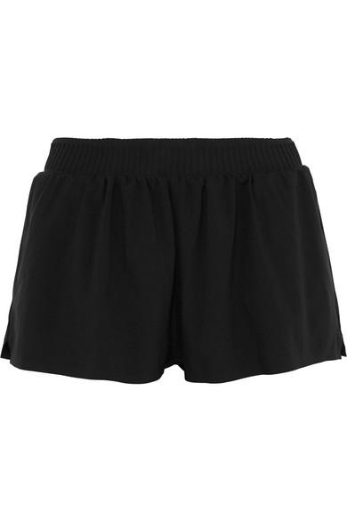 VAARA Stella Stretch Shorts in Black
