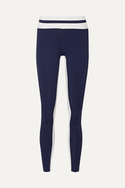 Flo Tuxedo striped stretch leggings