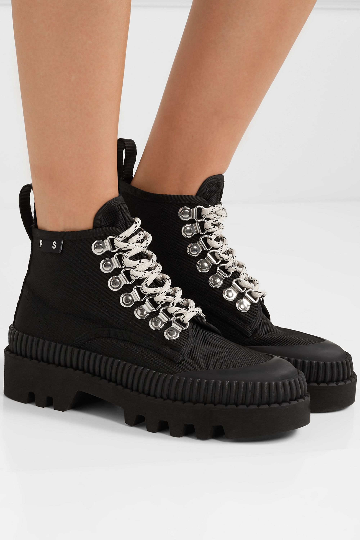 proenza schouler canvas boots