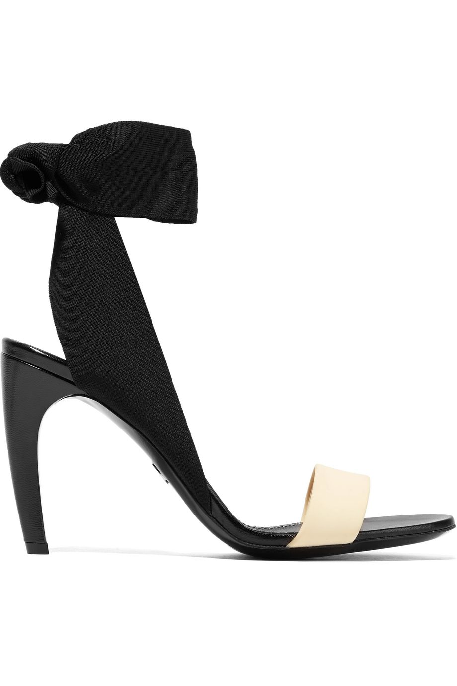 Proenza Schouler Canvas, rubber and leather sandals