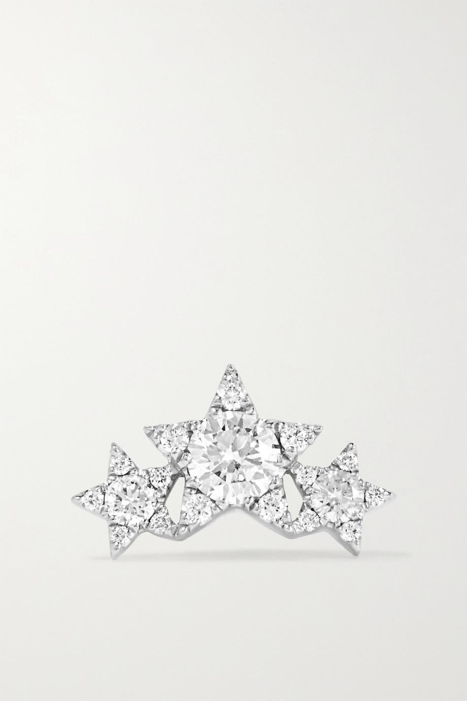 Maria Tash Star Garland 14-karat white gold diamond earring