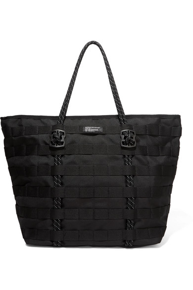 Nike Air Force One Shell Tote In Black   ModeSens 08df7a80b9