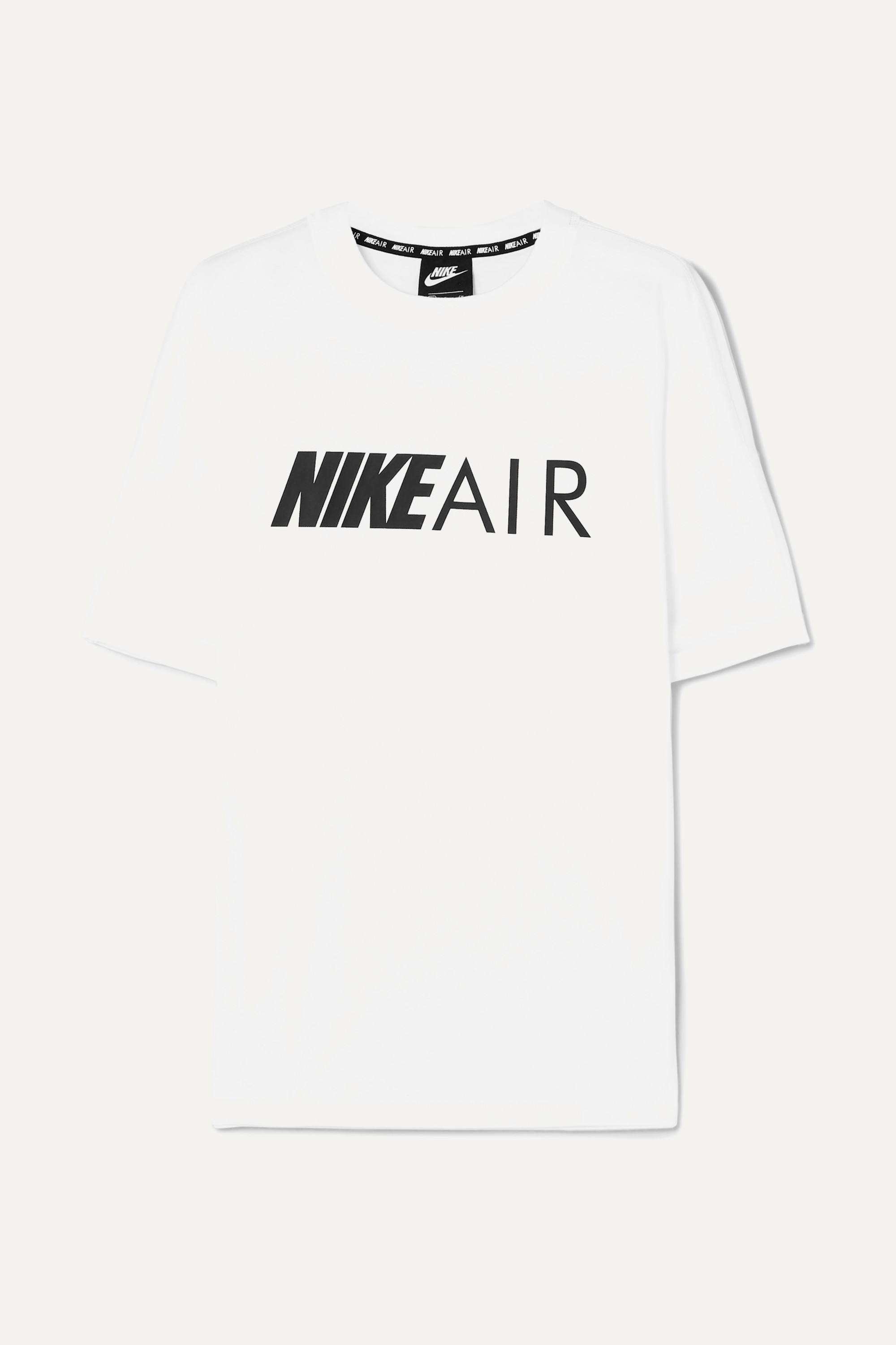 el propósito Intolerable surf  White Air printed cotton-jersey T-shirt | Nike | NET-A-PORTER