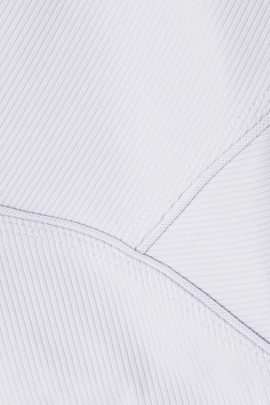 cd7a1b3b33b6dc Nike. Pro HyperCool cropped ribbed stretch-jersey top.  55. Play