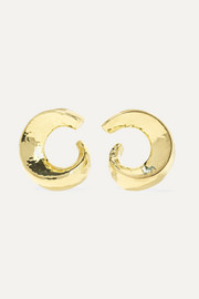 Classico 18-karat gold earrings