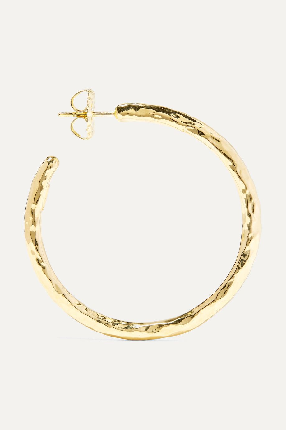 Ippolita Classico 18-karat gold hoop earrings