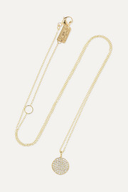 Stardust 18-karat gold diamond necklace