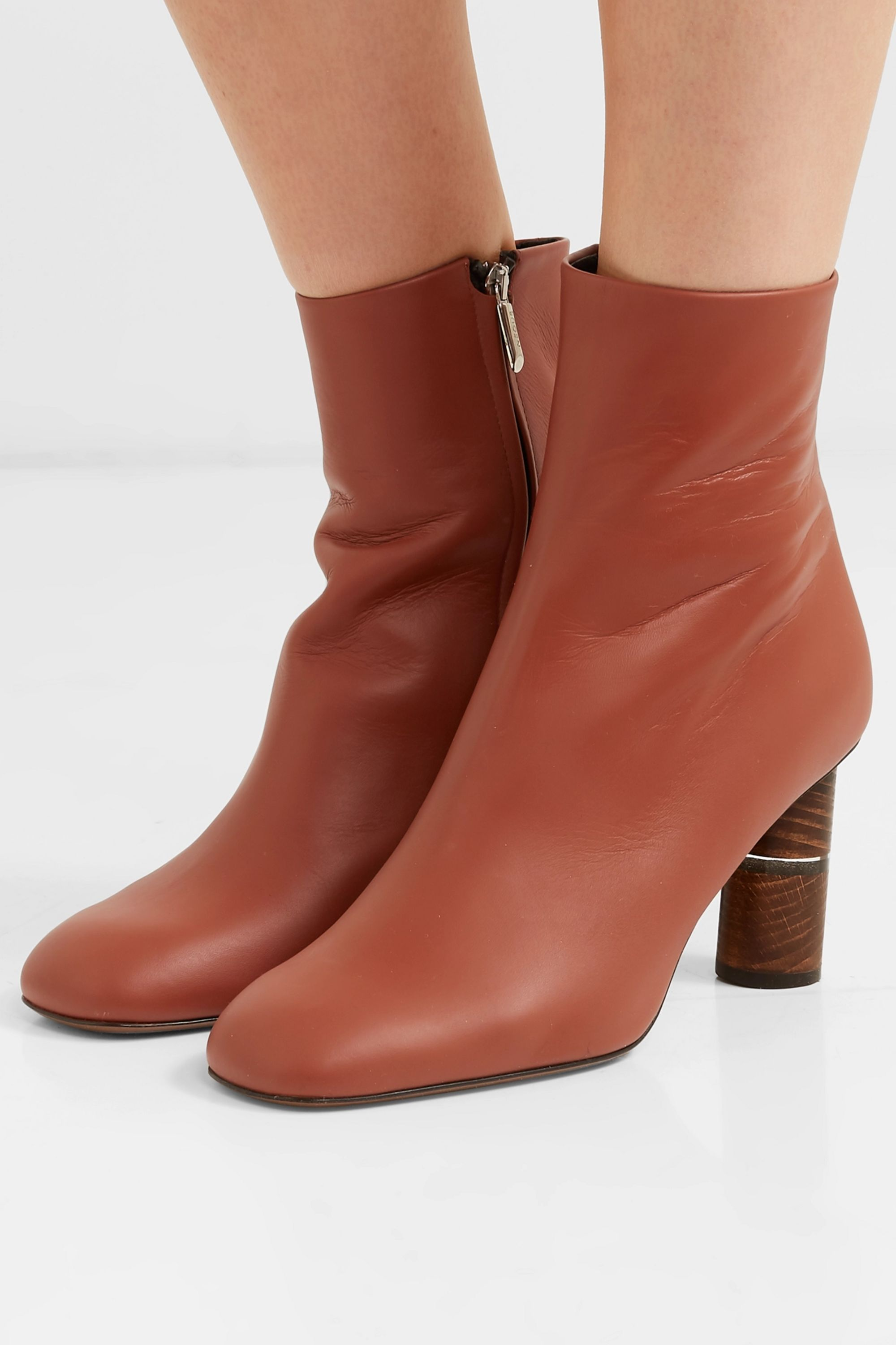Neous Clowesia leather ankle boots