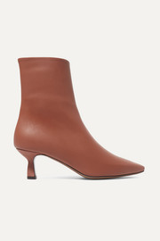 Ancistro leather ankle boots