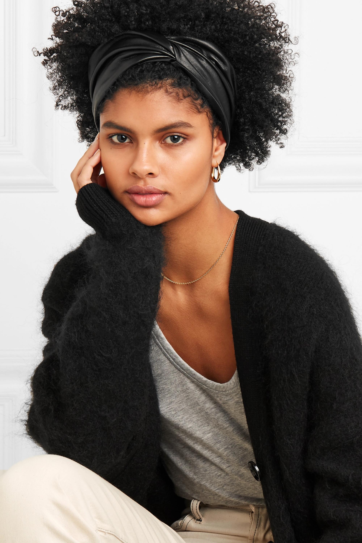 Eugenia Kim Malia twist-front leather headband