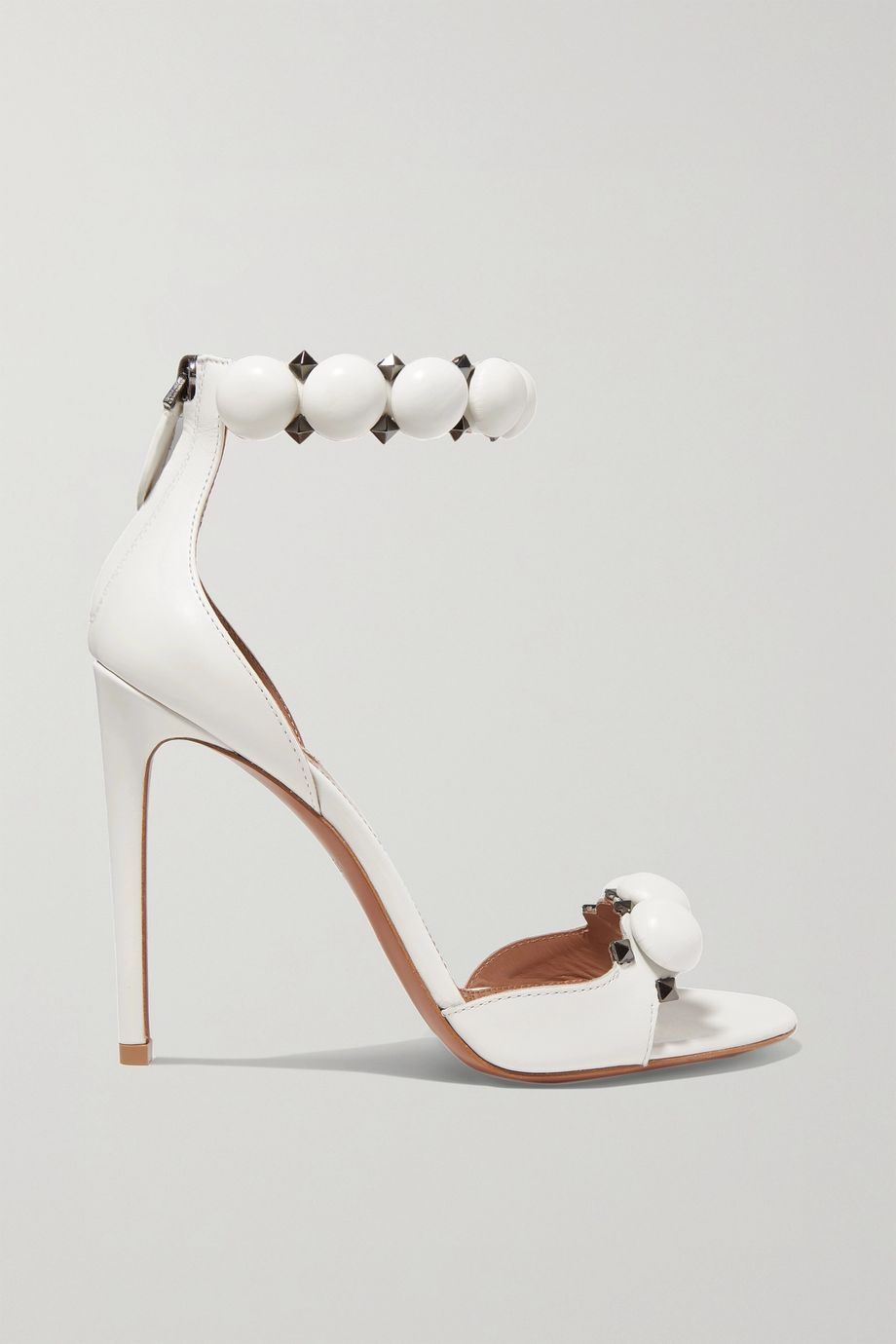 Alaïa Bombe 110 studded leather sandals