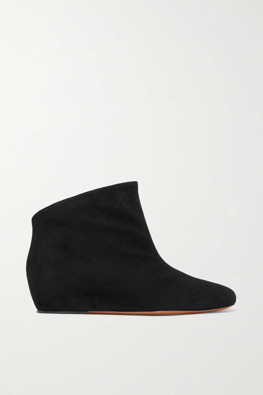 Alaïa 35 suede wedge ankle boots