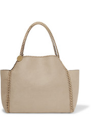 Stella McCartney Sac à main réversible en cuir synthétique brossé Falabella Medium