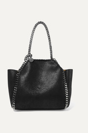 The Falabella mini reversible faux brushed-leather tote