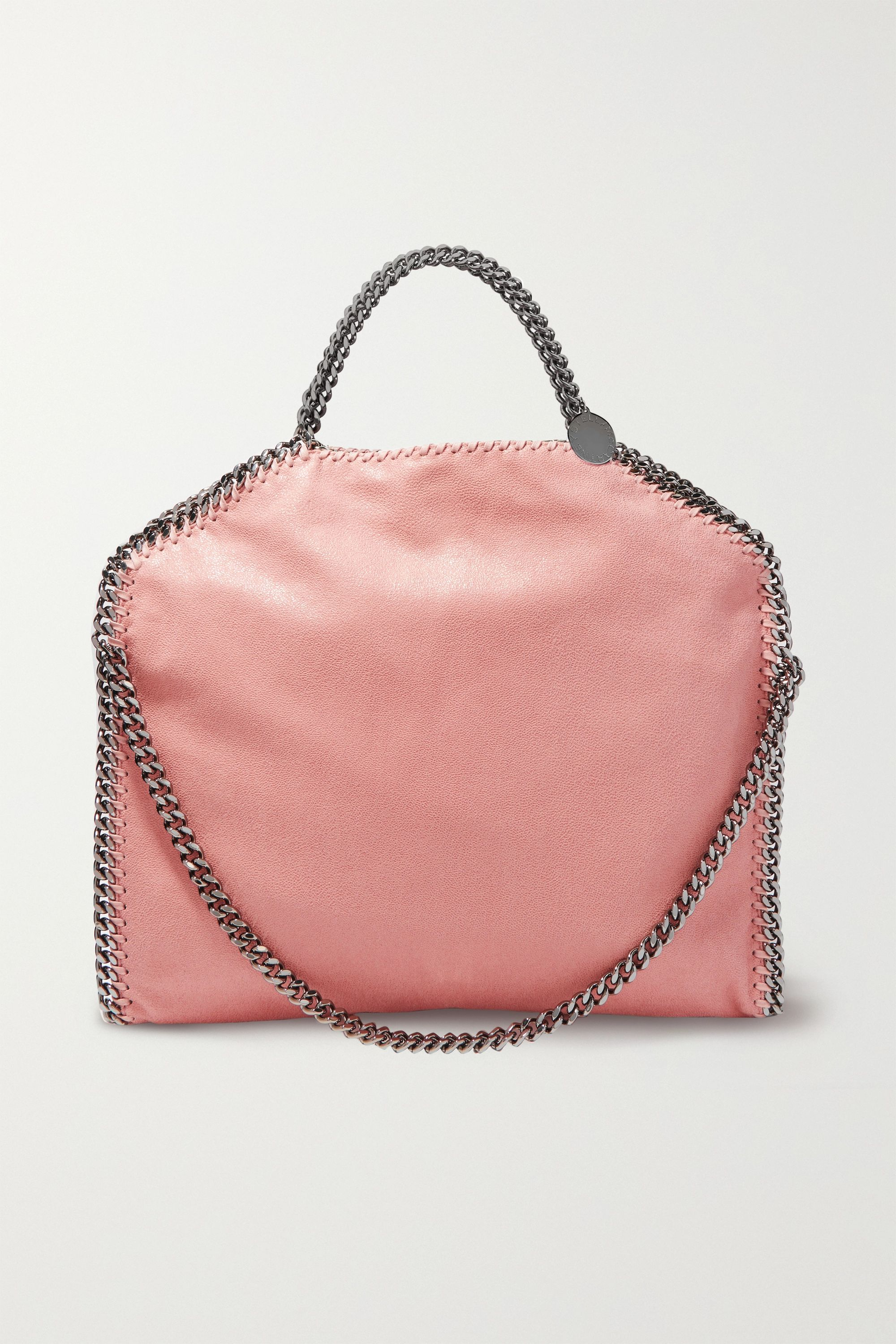 Stella McCartney The Falabella small faux brushed-leather shoulder bag