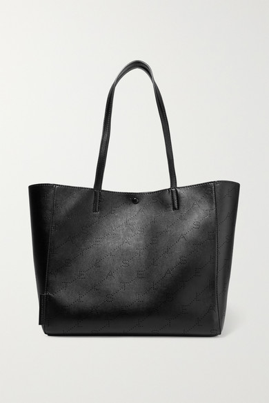 Stella Mccartney Totes Perforated faux leather tote
