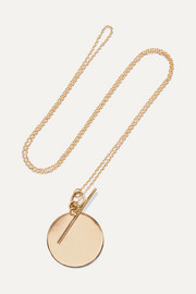 Loren Stewart 14-karat gold necklace