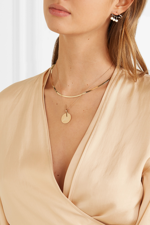Loren Stewart 14-karat gold necklace