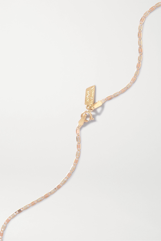 Loren Stewart Baby Valentino 10-karat gold choker
