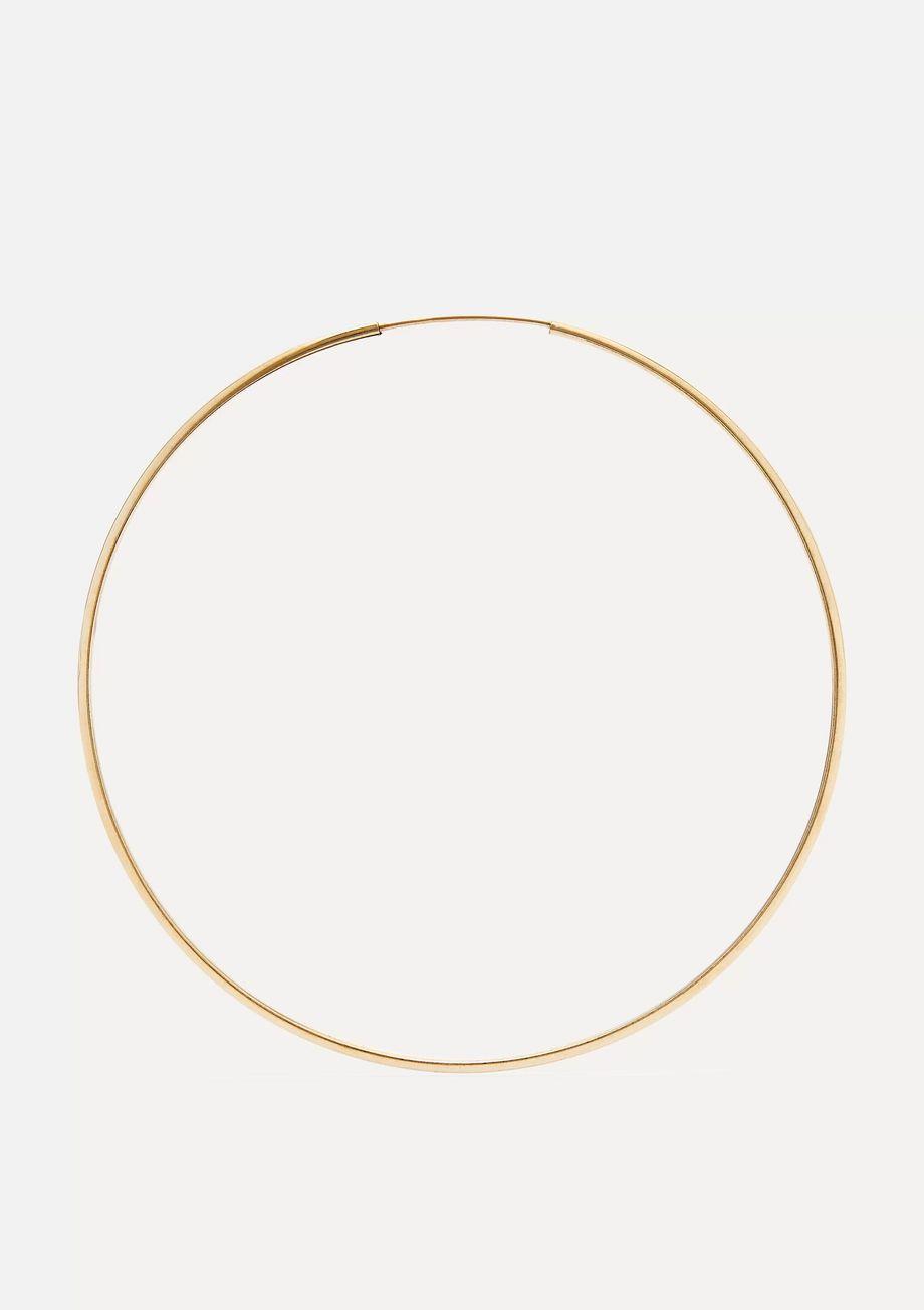 Loren Stewart Infinity Creolen aus Gold