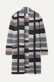 Bayeux striped cashmere cardigan