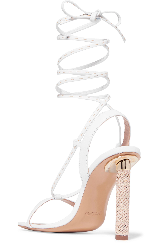 Jacquemus Bergamo leather sandals