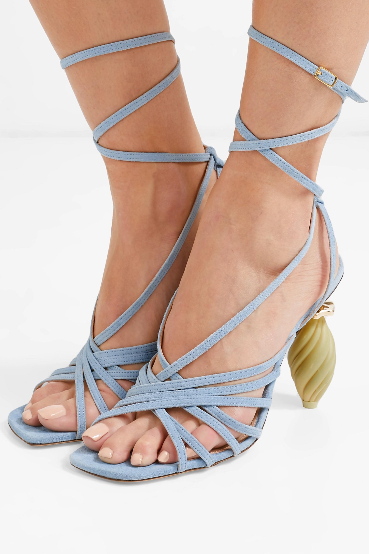 Jacquemus Pisa suede sandals
