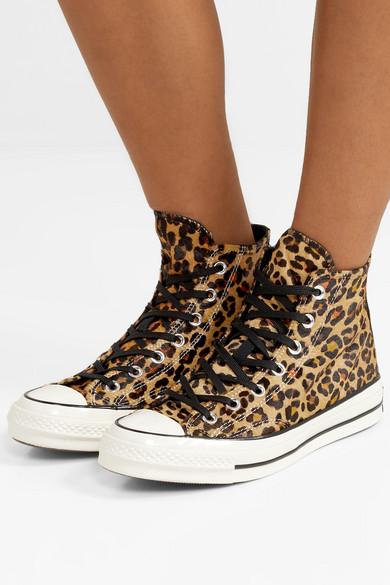 Converse | Chuck Taylor All Star 70 leopard print faux calf