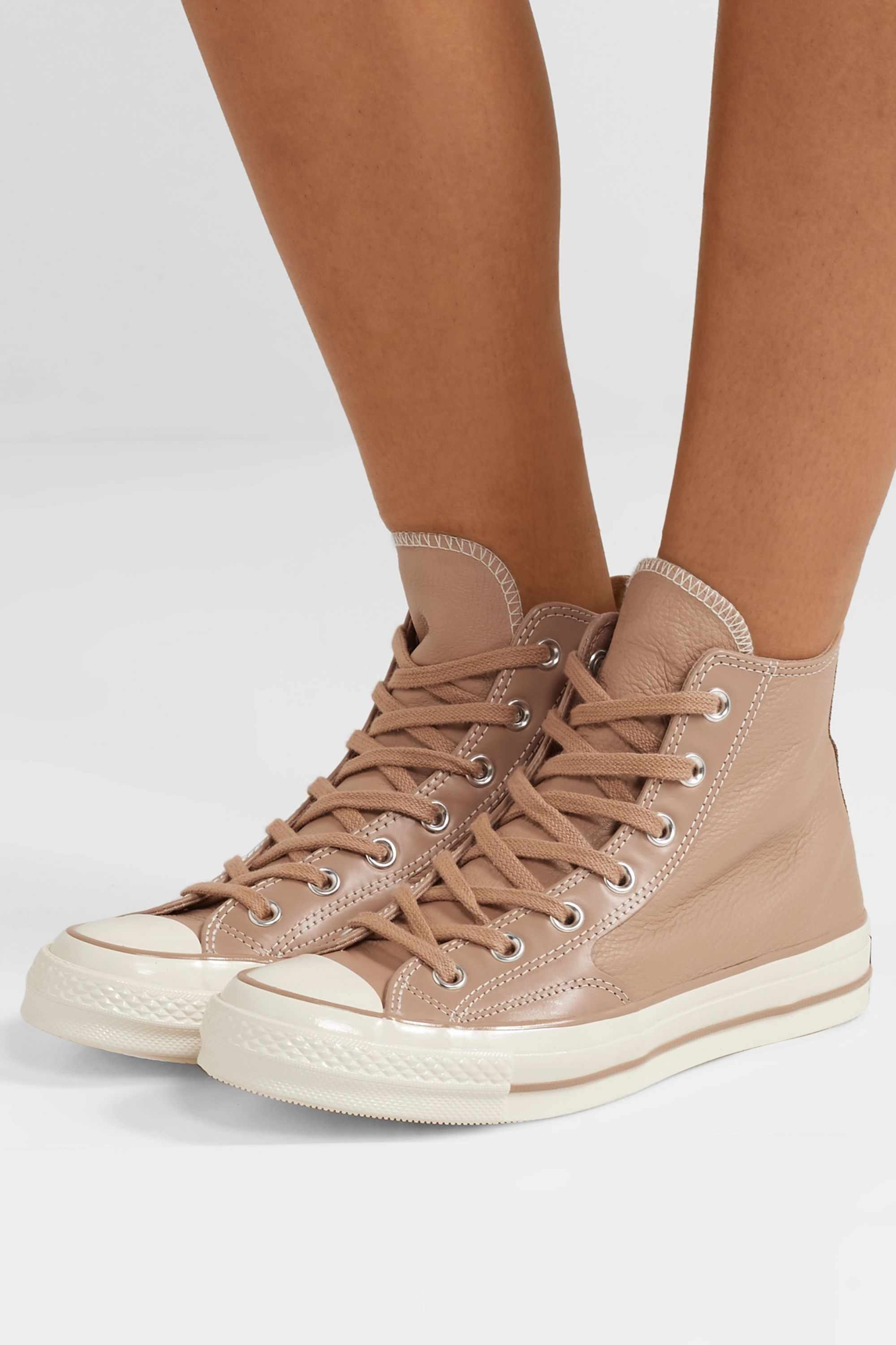 Chuck Taylor All Star 70 High Top Sneakers aus Leder