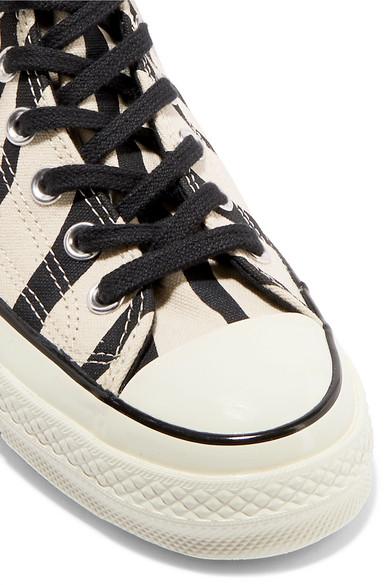 CONVERSE CHUCK TAYLOR All Stars à Fourrure Zèbre Chaussures