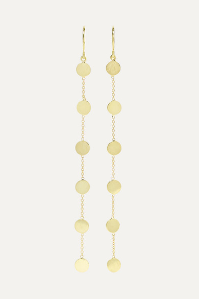 JENNIFER MEYER Circle 18-Karat Gold Earrings