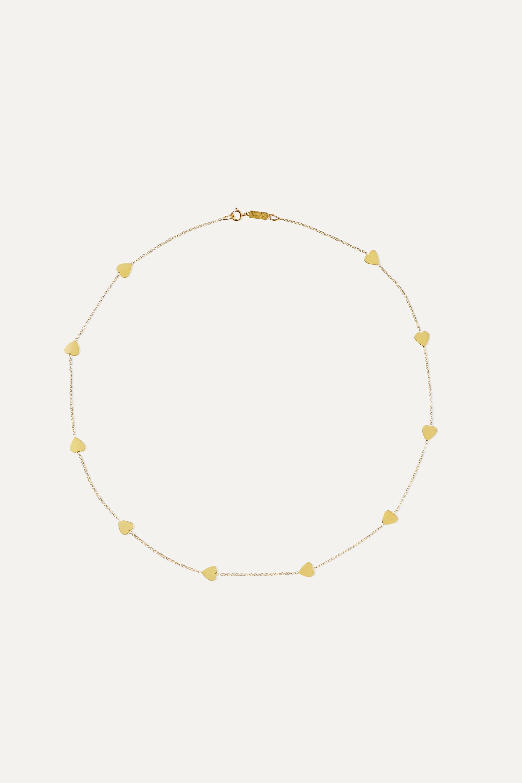 Jennifer Meyer Heart-By-The-Inch 18-karat gold necklace