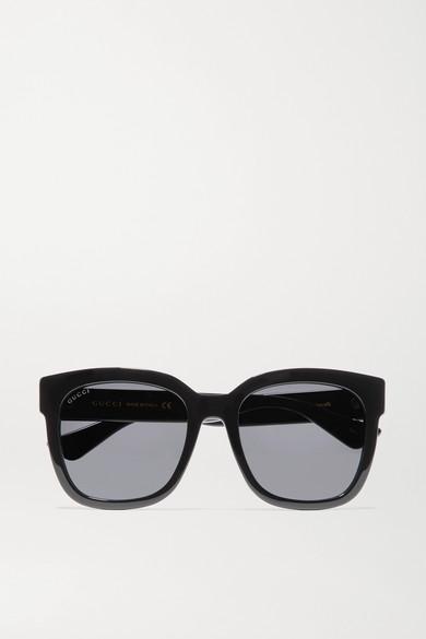 64701620513a Gucci | Square-frame acetate sunglasses | NET-A-PORTER.COM