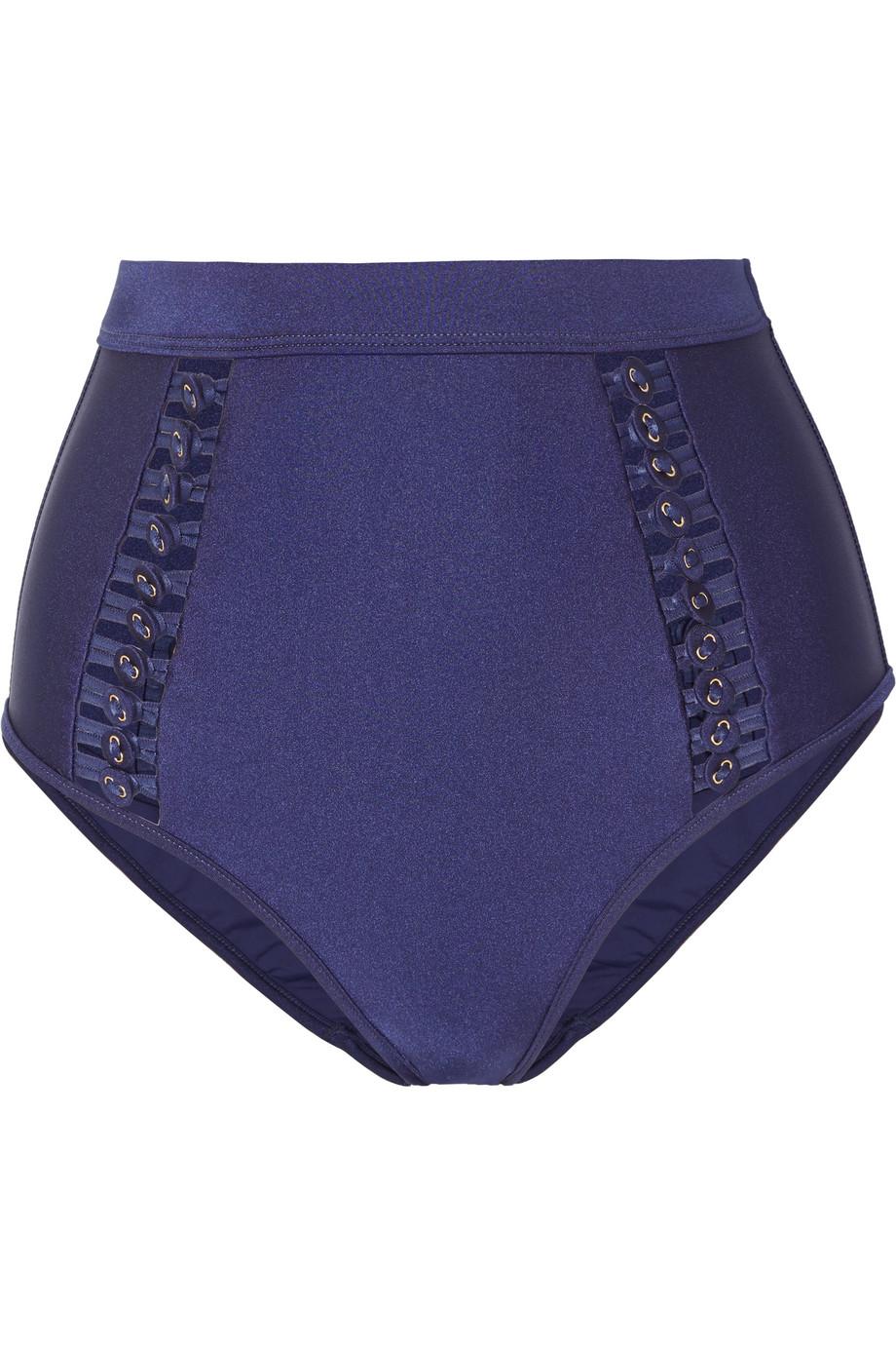 Zimmermann Bowie button-embellished bikini briefs