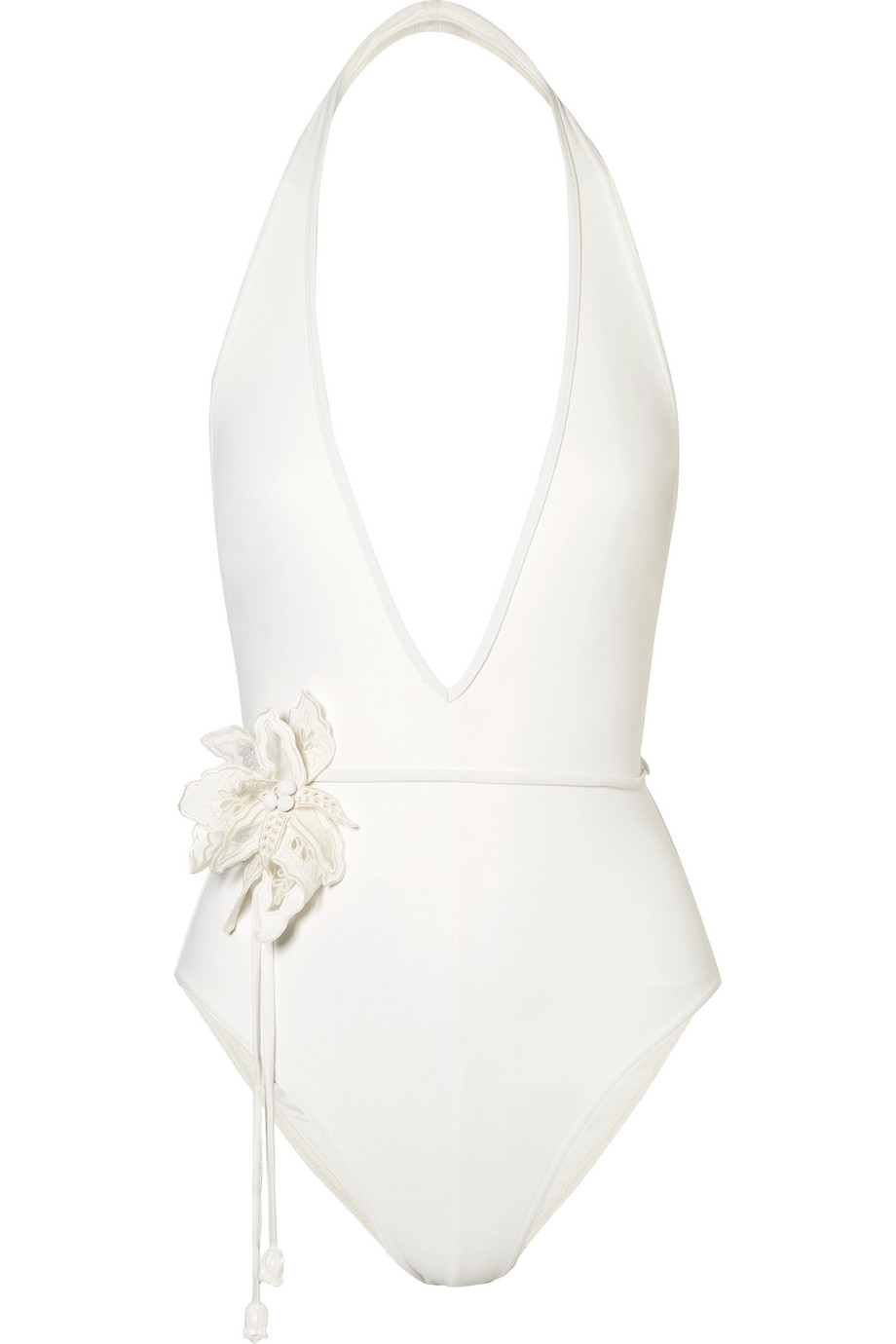 Zimmermann Corsage White Swimsuit