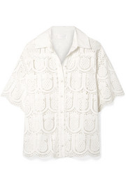 Zimmermann Wayfarer cotton crochet shirt
