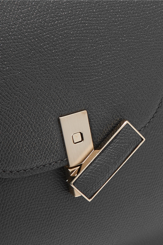 Valextra Iside medium textured-leather shoulder bag