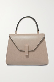Valextra Iside mini textured-leather shoulder bag