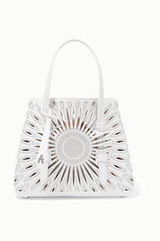 Alaïa Mini studded laser-cut leather tote