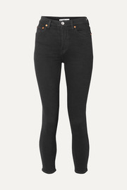 Originals High-Rise Ankle Crop stretch skinny jeans