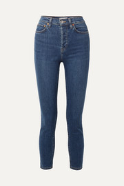 Originals High-Rise Ankle Crop Ultra Stretch skinny jeans