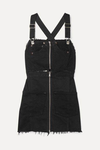 Decon Levi'S&Reg; Denim Overall Dress - Black Size L