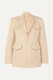 Georgia Alice Cotton-blend twill blazer