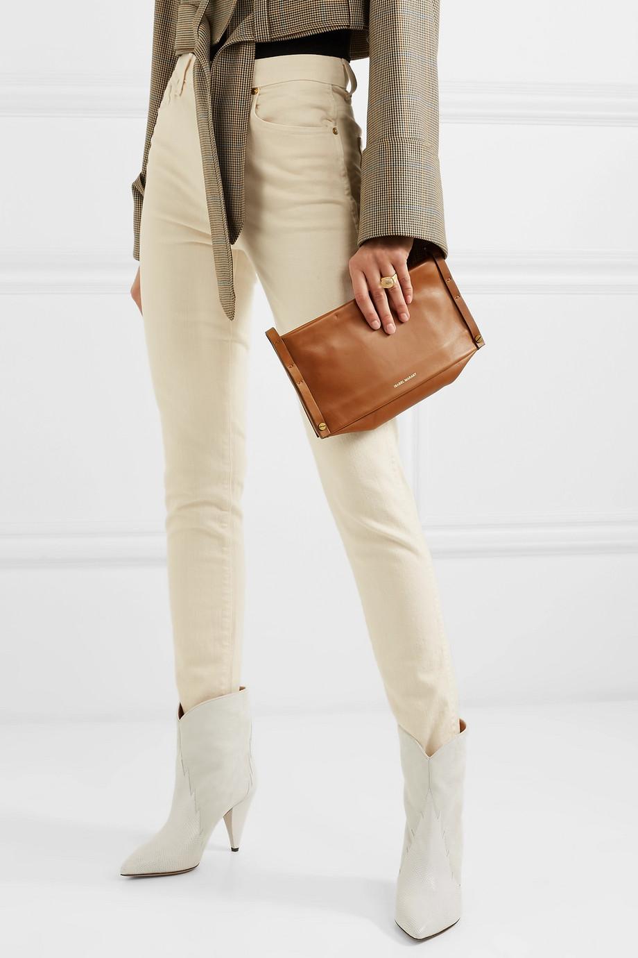 29fc939a4a Isabel Marant Drissa leather shoulder bag
